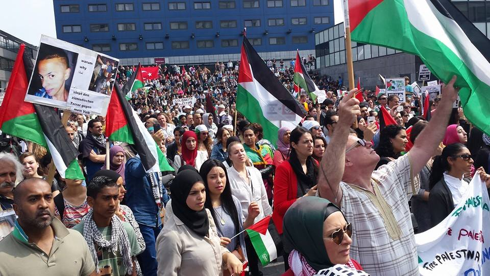 Demonstratie Den Haag Gaza